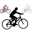 bike - vector image