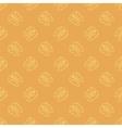 Human Brain Icon Seamless Pattern vector image
