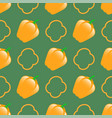fresh green seamless pattern vector image