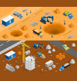 building site banners set vector image