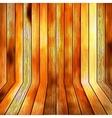 Background wooden floor boards EPS10 vector image