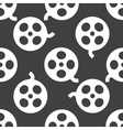 Film web icon flat design Seamless pattern vector image