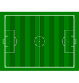 footbal or soccer field background vector image