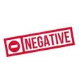 Negative rubber stamp vector image
