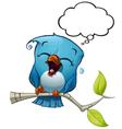 Blue Bird LOL vector image