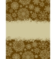 Christmas vintage background EPS 8 vector image