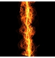 line of fire vector image