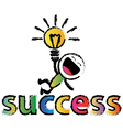 success vector image