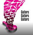 Never enough guitars vector image
