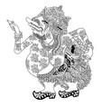 sang hyang narada vector image