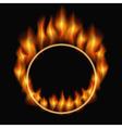 burning ring vector image