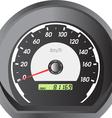 car speedometers for racing design vector image