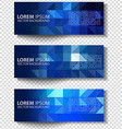 textural banners in grunge style Eps 10 vector image