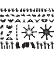 Hand gestures vector image vector image