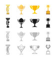 competition sport achievements and other web vector image