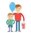 for father day vector image