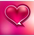 Valentine heart on abstract EPS 10 vector image vector image