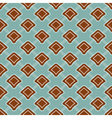 Seamless geometric colorful pattern background vector image