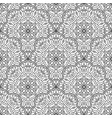 Black and white seamless oriental pattern vector image