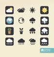 Modern weather color Design vector image