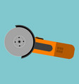 angle grinder vector image