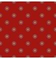 Flowers geometric seamless pattern 2010 vector image