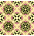 Seamless ornamental pattern with flowers vector image