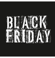Black friday Advertising design template vector image vector image