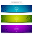 Technology Colorful Web Banners vector image