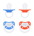 baby pacifier isolated vector image