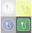 power and energy flat icons 14 vector image