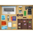 Travel concept Web banner vector image