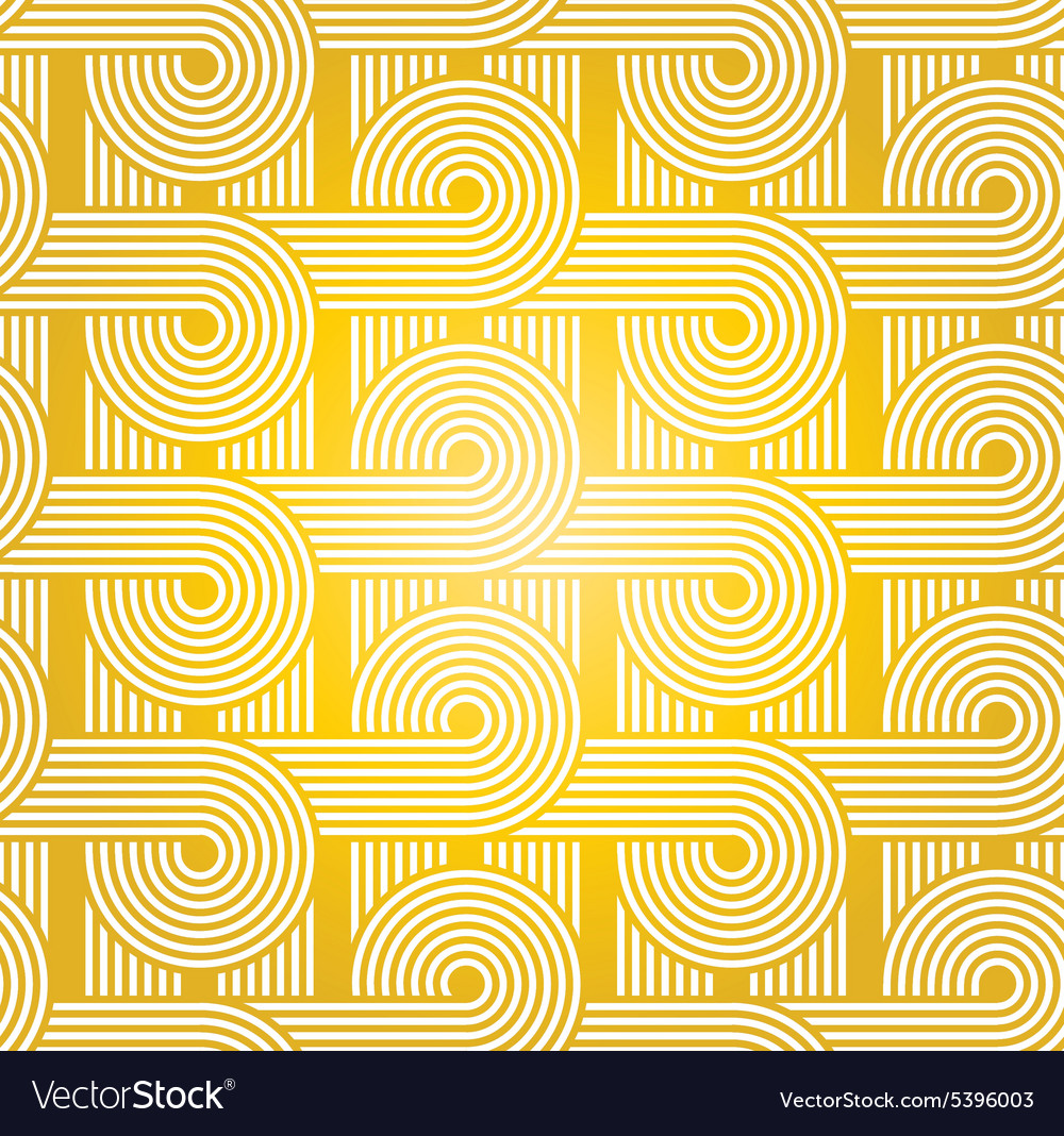 Yellow disco background vector