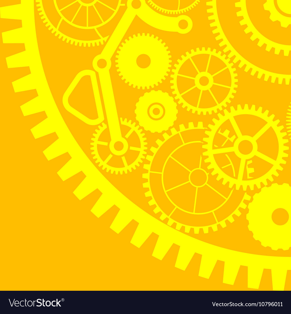 Gear background third variant vector