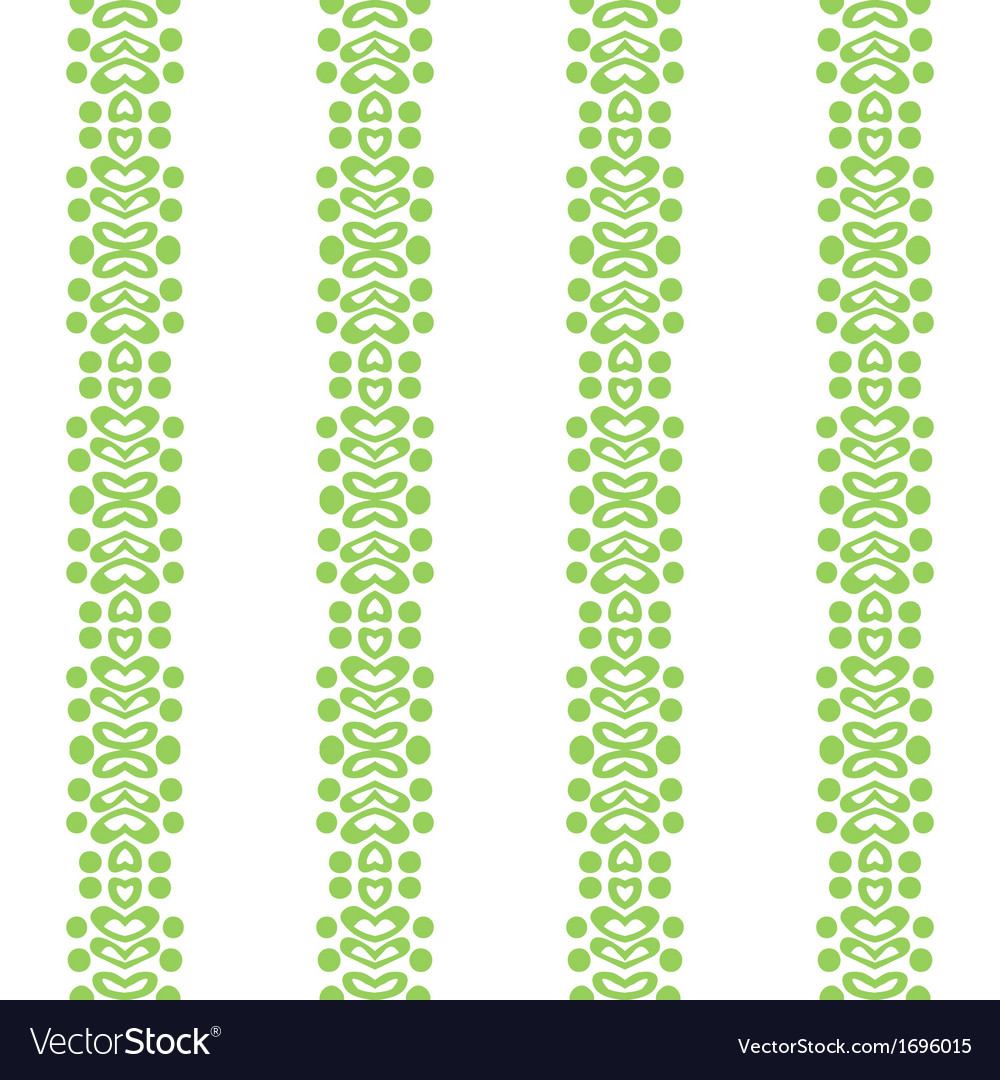 Bold simple vertical ornamented pattern vector
