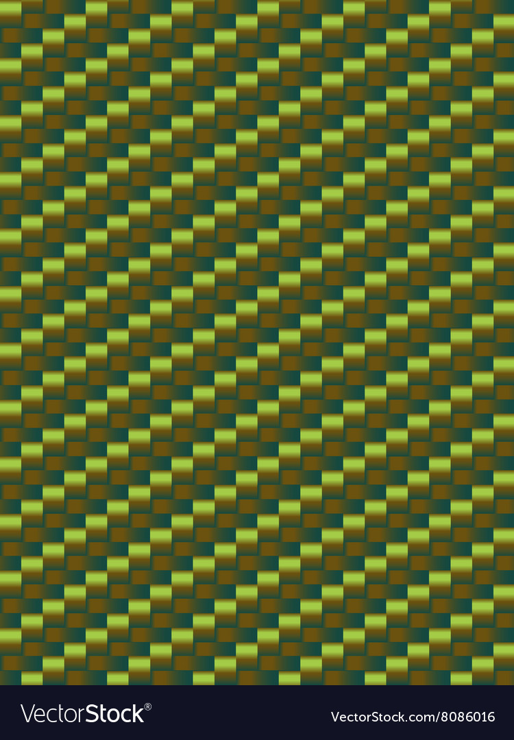 Green weave texture geometric seamless background vector