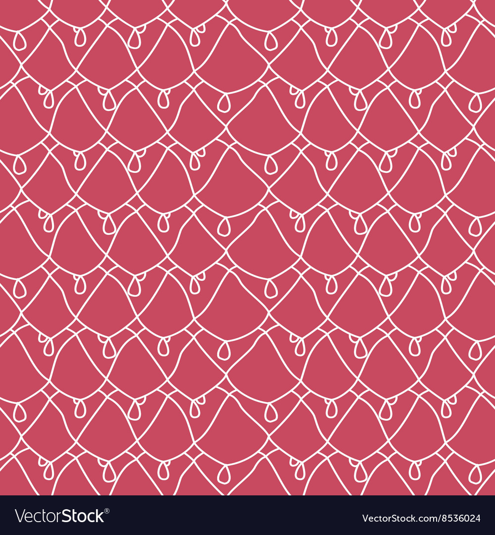 Seamless lacy pattern endless texture vector