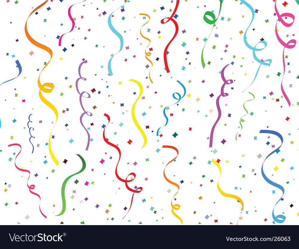 Confetti design vector