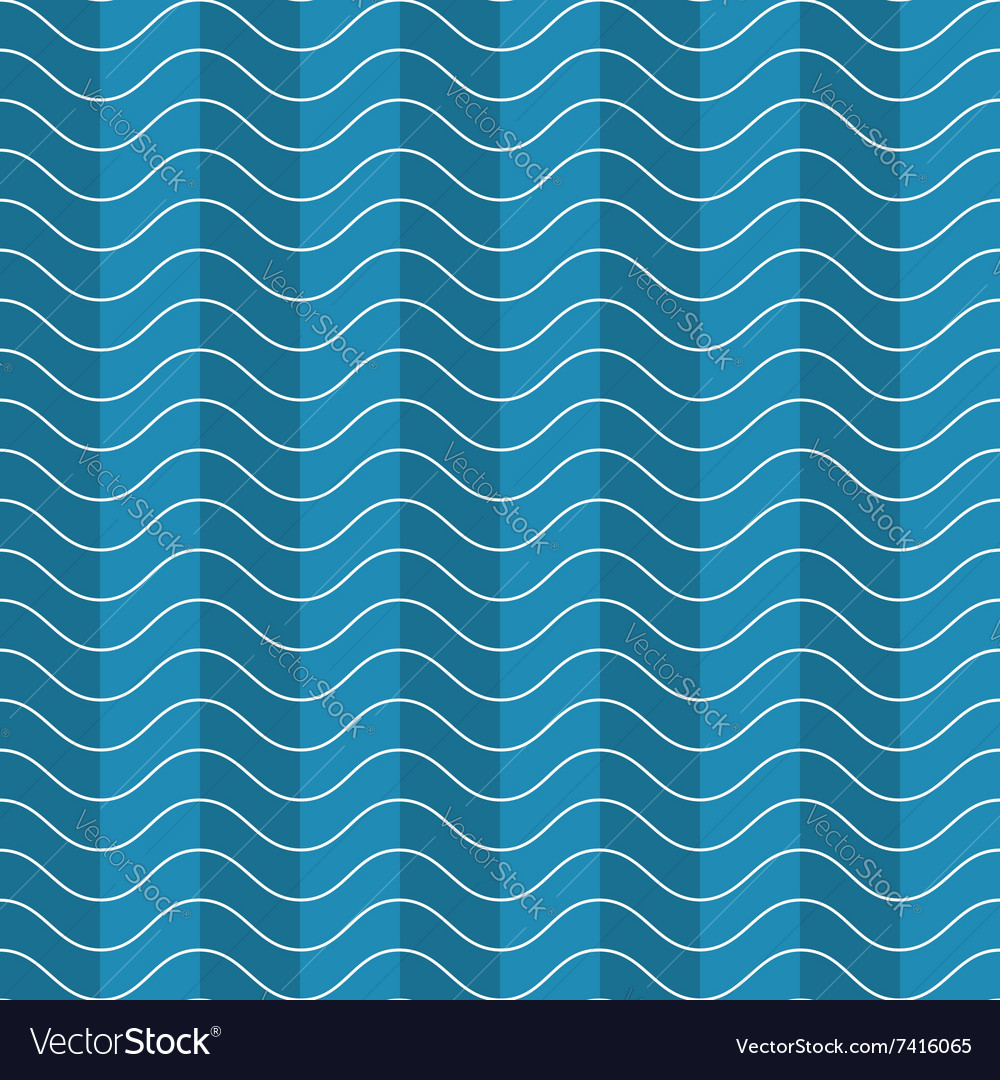 Wave abstract pattern vector
