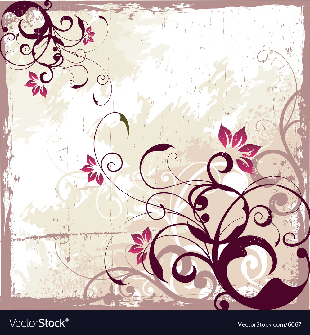 Antique vintage background vector