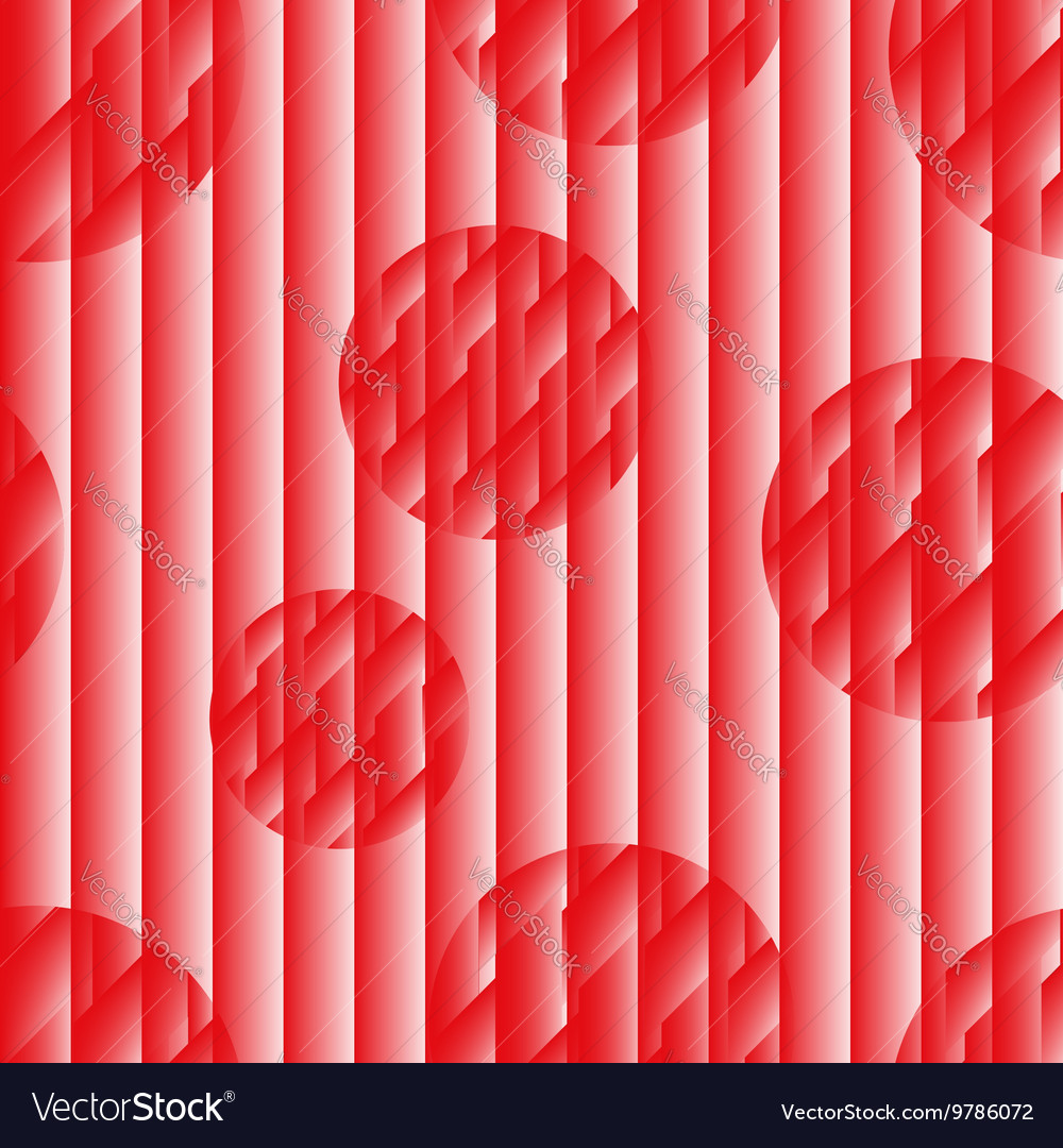 Seamless pattern in the japanese style redwhite vector
