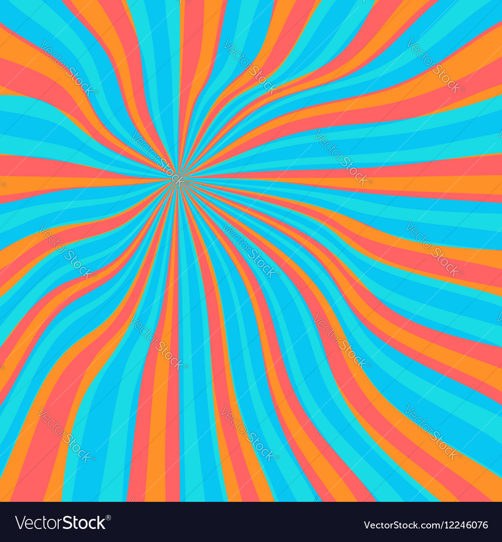 Colored orange lollypop background vector