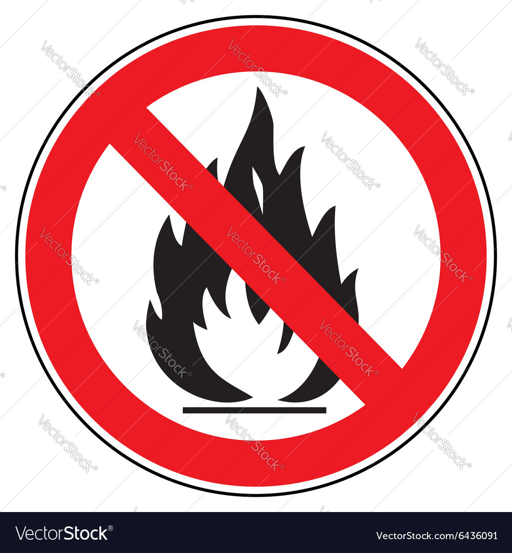 No fire vector
