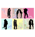 Valentines Day couples vector image