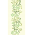 Underwater seaweed garden vertical seamless vector image vector image