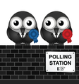 Polling Station vector image vector image