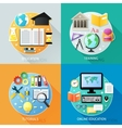 Business education concept vector image