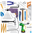 Household tools vector image