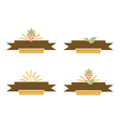 Bakery and Harvest Banner Set vector image vector image