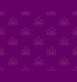 lotus zen seamless pattern background vector image